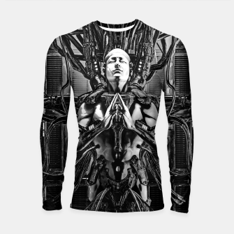 Thumbnail image of Soul of the Machine Longsleeve rashguard , Live Heroes