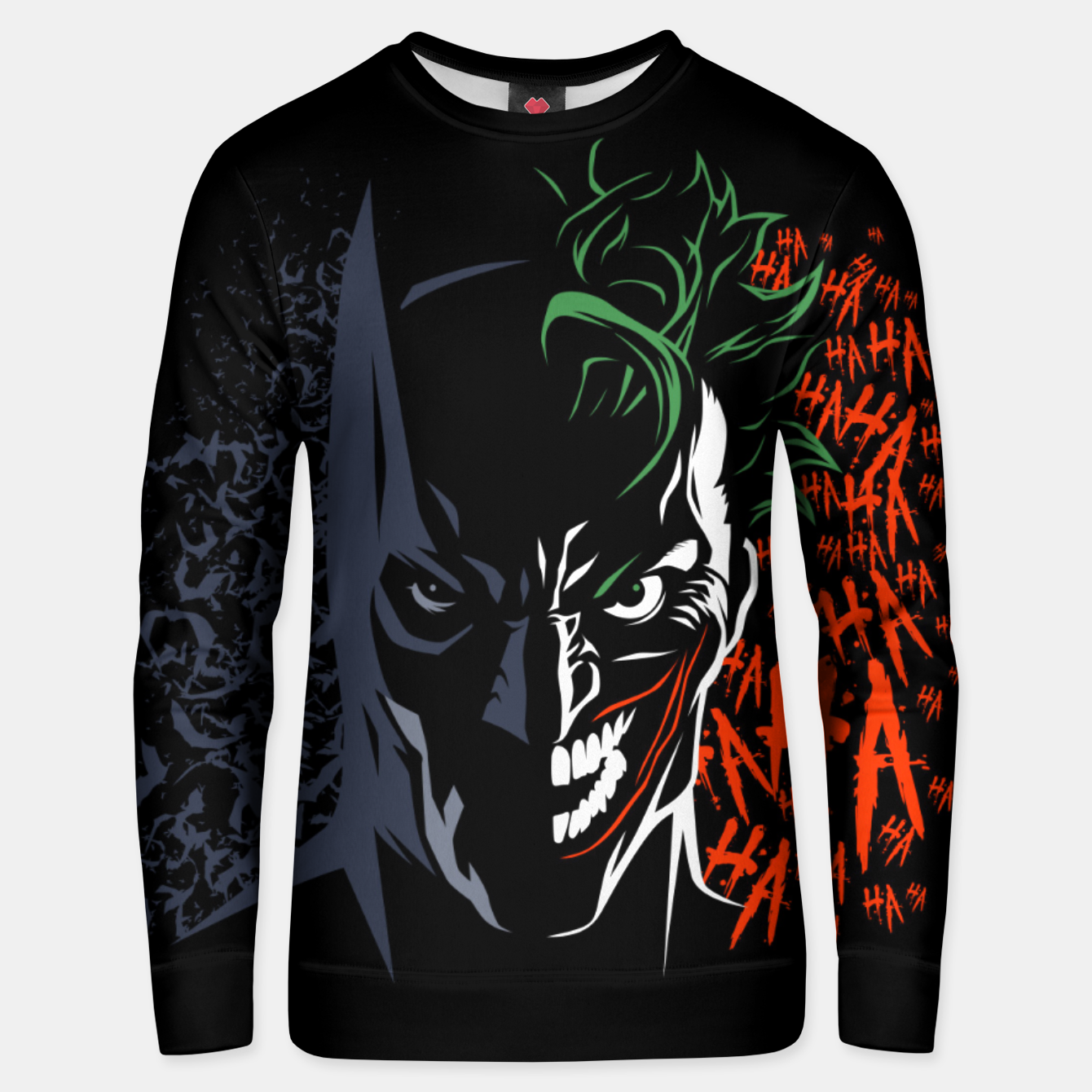 Foto Face to face Sudadera unisex - Live Heroes