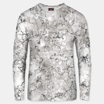 Thumbnail image of SILVER GREY MARBLE Unisex sweater, Live Heroes