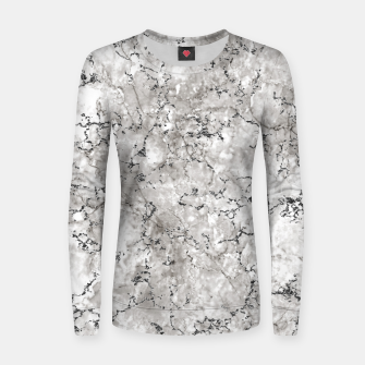 Thumbnail image of SILVER GREY MARBLE Women sweater, Live Heroes
