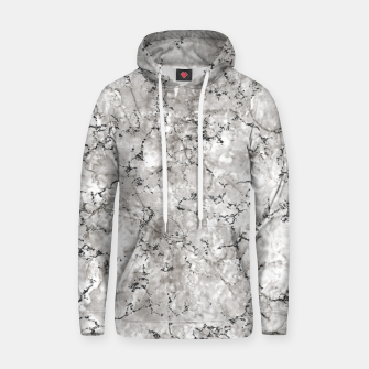Thumbnail image of SILVER GREY MARBLE Hoodie, Live Heroes