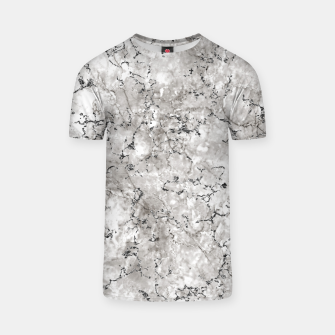 Thumbnail image of SILVER GREY MARBLE T-shirt, Live Heroes