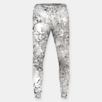 Thumbnail image of SILVER GREY MARBLE Sweatpants, Live Heroes