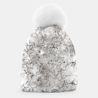 Thumbnail image of SILVER GREY MARBLE Beanie, Live Heroes