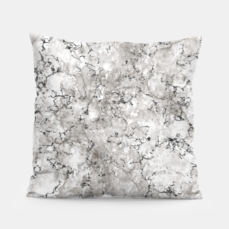 Thumbnail image of SILVER GREY MARBLE Pillow, Live Heroes