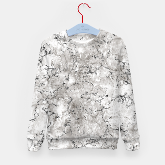 Thumbnail image of SILVER GREY MARBLE Kid's sweater, Live Heroes