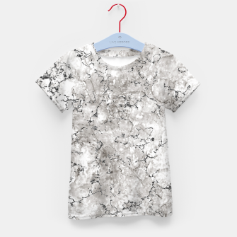Thumbnail image of SILVER GREY MARBLE Kid's t-shirt, Live Heroes