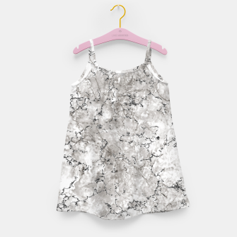 Thumbnail image of SILVER GREY MARBLE Girl's dress, Live Heroes