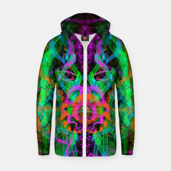 Miniaturka A Trinitarian From Hoag's Object (scifi, alien, visionary) Zip up hoodie, Live Heroes