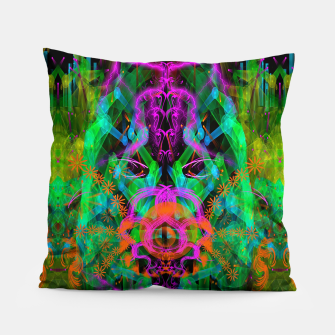 Miniaturka A Trinitarian From Hoag's Object (scifi, alien, visionary) Pillow, Live Heroes