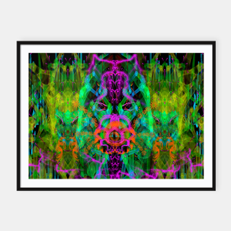 Miniaturka A Trinitarian From Hoag's Object (scifi, alien, visionary) Framed poster, Live Heroes