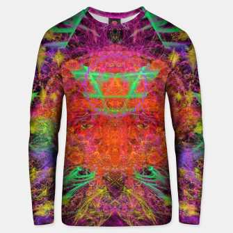 Miniature de image de Solar Sadness (astrology, sun, visionary, abstract) Unisex sweater, Live Heroes