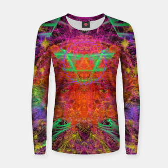Miniature de image de Solar Sadness (astrology, sun, visionary, abstract) Women sweater, Live Heroes