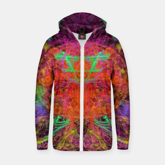 Miniature de image de Solar Sadness (astrology, sun, visionary, abstract) Zip up hoodie, Live Heroes