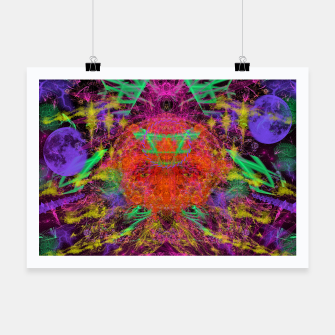 Miniature de image de Solar Sadness (astrology, sun, visionary, abstract) Poster, Live Heroes