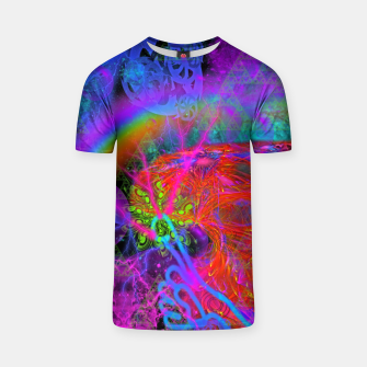 Thumbnail image of E.T.'s Finger (ultraviolet, psychedelic, alien) T-shirt, Live Heroes
