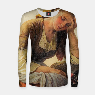 Thumbnail image of Sad girls Women sweater, Live Heroes