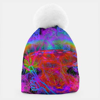 Thumbnail image of E.T.'s Finger (ultraviolet, psychedelic, alien) Beanie, Live Heroes