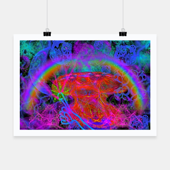Thumbnail image of E.T.'s Finger (ultraviolet, psychedelic, alien) Poster, Live Heroes