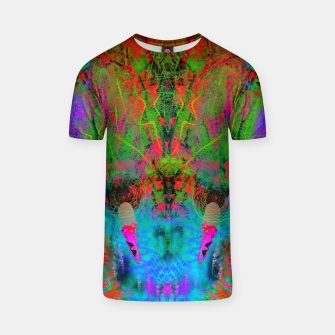 Thumbnail image of Ocular Fire (psychedelic, visionary) T-shirt, Live Heroes