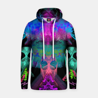 Thumbnail image of Ghostly Exhalations (ultraviolet, vapor, psychedelic, alien) Hoodie, Live Heroes