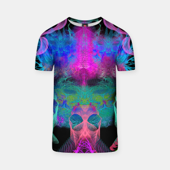 Thumbnail image of Ghostly Exhalations (ultraviolet, vapor, psychedelic, alien) T-shirt, Live Heroes