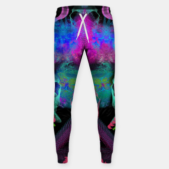 Thumbnail image of Ghostly Exhalations (ultraviolet, vapor, psychedelic, alien) Sweatpants, Live Heroes