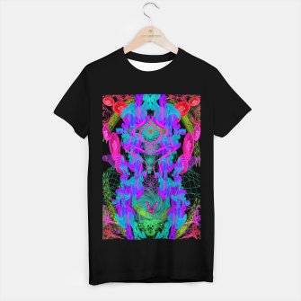 Thumbnail image of Jellyfish Warp (ultraviolet, psychedelic, underwater, trippy) T-shirt regular, Live Heroes