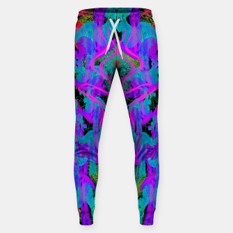 Thumbnail image of Jellyfish Warp (ultraviolet, psychedelic, underwater, trippy) Sweatpants, Live Heroes