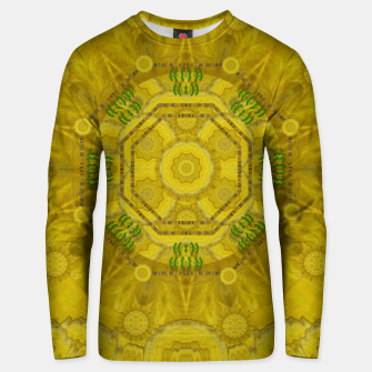 Miniaturka  sunshine feathers and fauna ornate Unisex sweater, Live Heroes