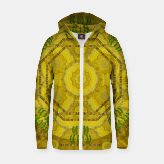 Miniaturka  sunshine feathers and fauna ornate Zip up hoodie, Live Heroes
