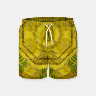 Miniaturka  sunshine feathers and fauna ornate Swim Shorts, Live Heroes