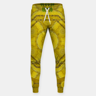 Miniaturka  sunshine feathers and fauna ornate Sweatpants, Live Heroes
