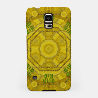 Miniaturka  sunshine feathers and fauna ornate Samsung Case, Live Heroes