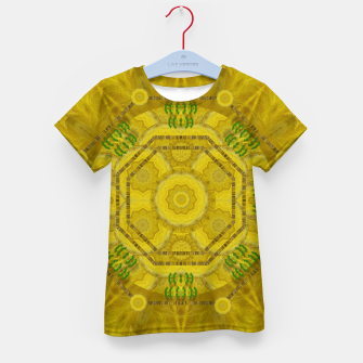 Miniaturka  sunshine feathers and fauna ornate Kid's t-shirt, Live Heroes