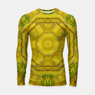 Miniaturka  sunshine feathers and fauna ornate Longsleeve rashguard , Live Heroes