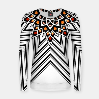 Thumbnail image of 9 Pointed Star Women sweater, Live Heroes