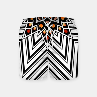 Thumbnail image of 9 Pointed Star Swim Shorts, Live Heroes