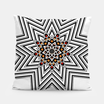Thumbnail image of 9 Pointed Star Pillow, Live Heroes