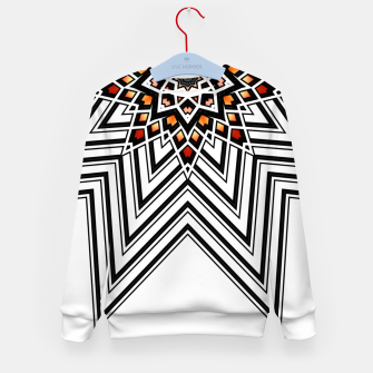 Thumbnail image of 9 Pointed Star Kid's sweater, Live Heroes