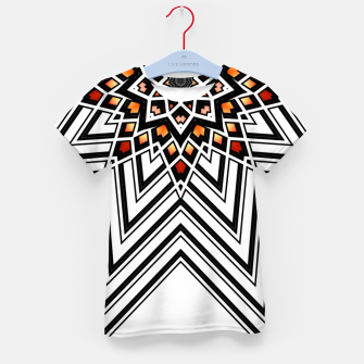 Thumbnail image of 9 Pointed Star Kid's t-shirt, Live Heroes