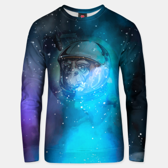 Thumbnail image of Space Monkey Bluza unisex, Live Heroes