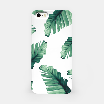 Tropical Banana Leaves Dream #5 #foliage #decor #art iPhone-Hülle thumbnail image