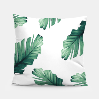 Tropical Banana Leaves Dream #5 #foliage #decor #art Kissen thumbnail image