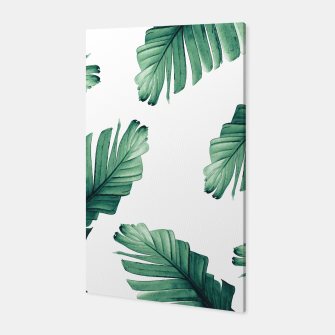 Tropical Banana Leaves Dream #5 #foliage #decor #art Canvas thumbnail image