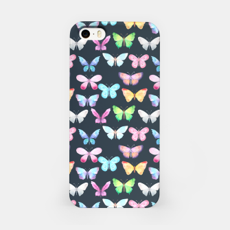 butterfly pattern Obudowa iPhone miniature