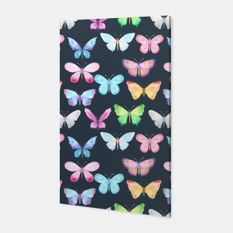 butterfly pattern Canvas miniature