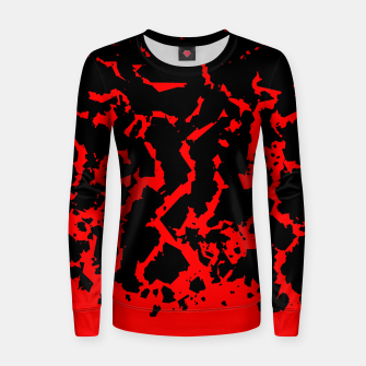 Thumbnail image of All Cracked Up Women sweater, Live Heroes