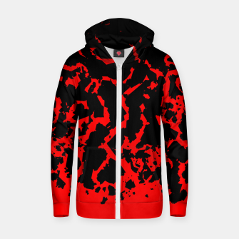 Thumbnail image of All Cracked Up Zip up hoodie, Live Heroes
