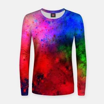 Thumbnail image of Explosive colors Sweater Woman, Live Heroes